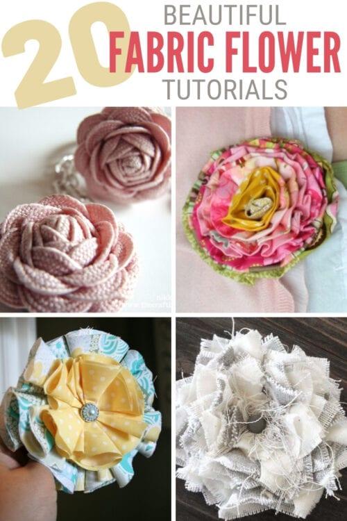 fabric flower tutorials 6