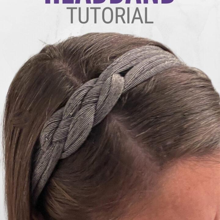 tshirt headband tutorial 23
