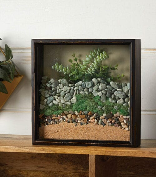 Sand and Rock Shadow Box