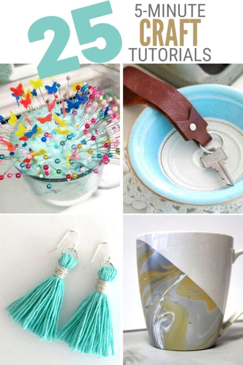 title image for 5 Minute Craft Ideas You Can Make at Home