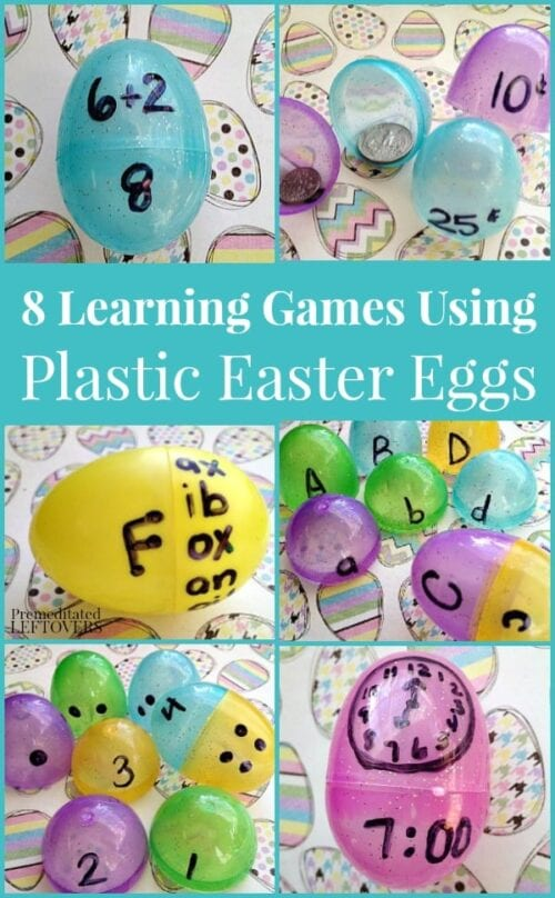 8 Learning Games Using Plastic Easter Eggs