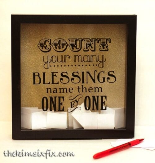 Blessings Shadow Box