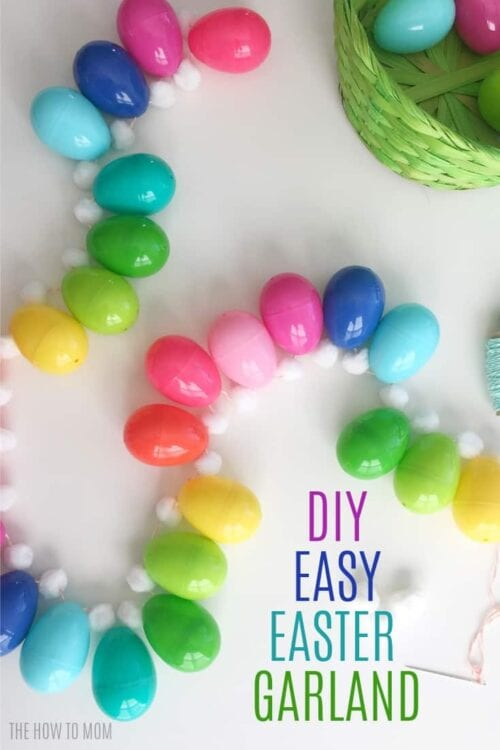 DIY Easy Easter Egg Garland