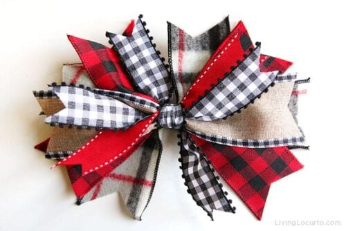 Easy Messy Bow Craft Tutorial
