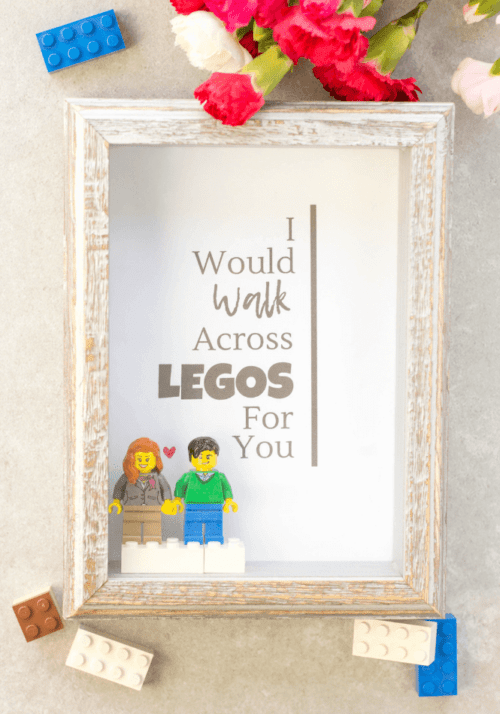 Lego Shadow Box