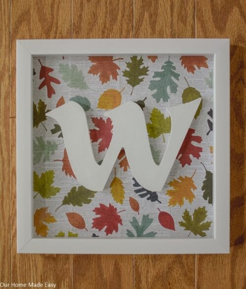 Monogram Shadow Box