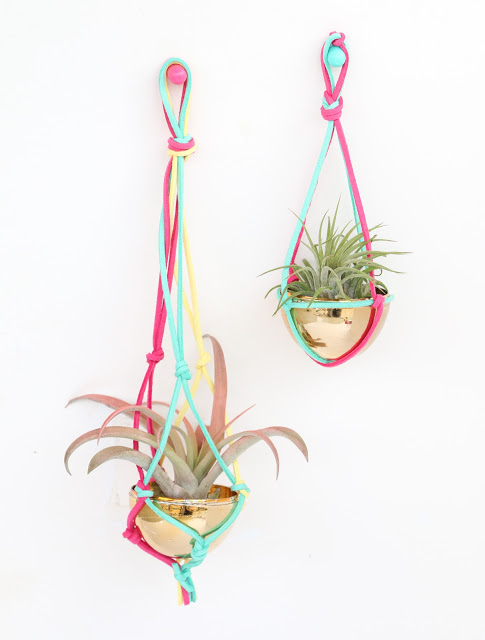 Macrame Air Planter