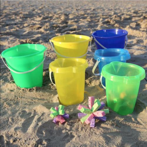Beach Pail Toss Game