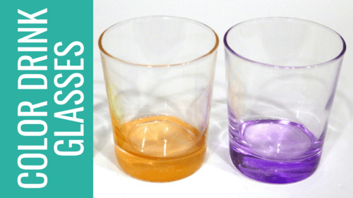 colored drinking glasses paint 16