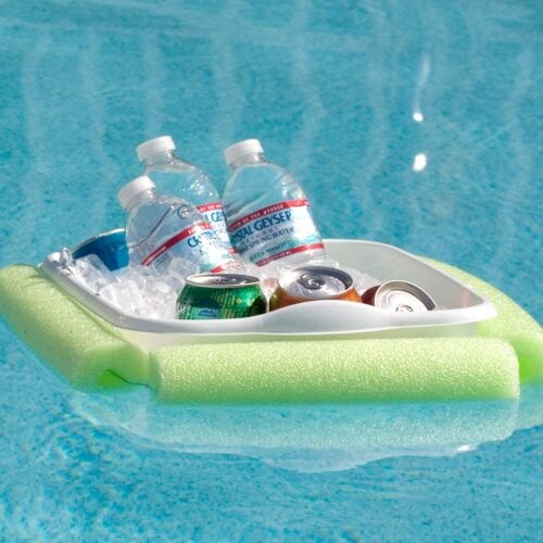 DIY Floating Cooler for Summer Pool Parties