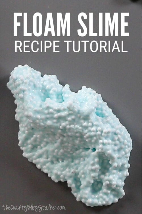 title image for How to Make Floam Slime - Easy Recipe