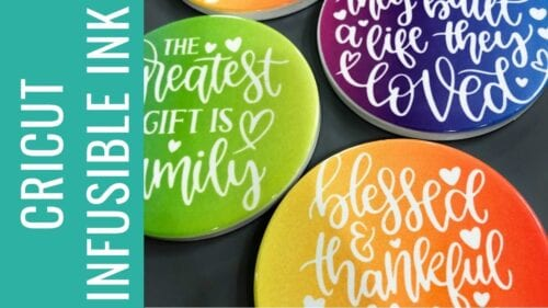 infusible ink coasters yt