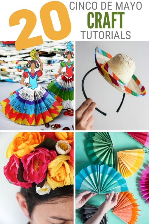 title image for 20 Cinco De Mayo Crafts for Adults