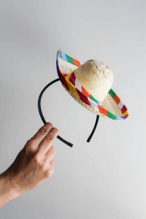 DIY Sombrero Headband