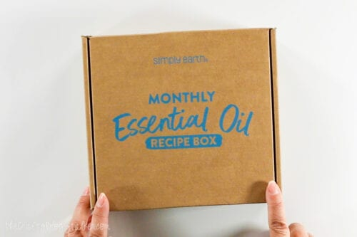 simply earth monthly essential oil recipe box