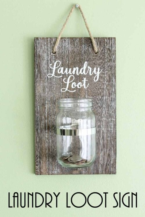 change jar for the laundry room