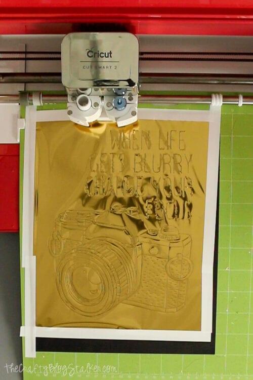 finished foil design