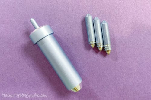Cricut foil tool with 3 interchangeable tips