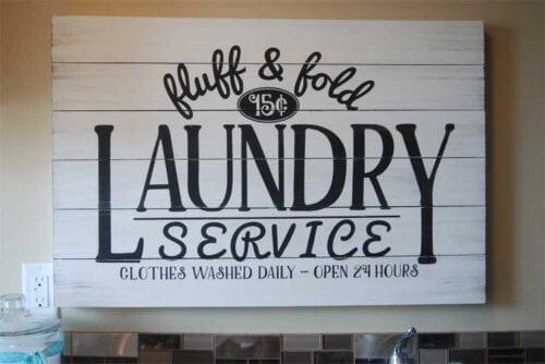 fold fluff laundry service