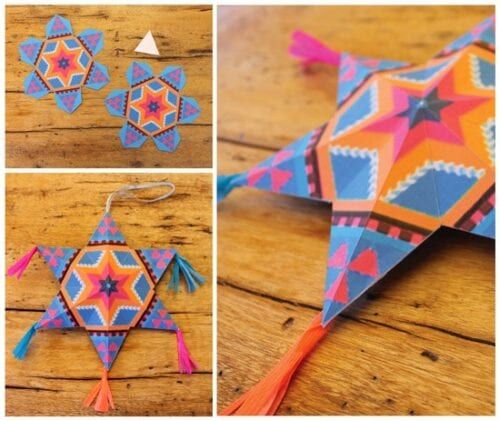 mexican paper star crafts