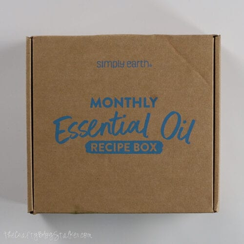 monthly simply earth recipe box