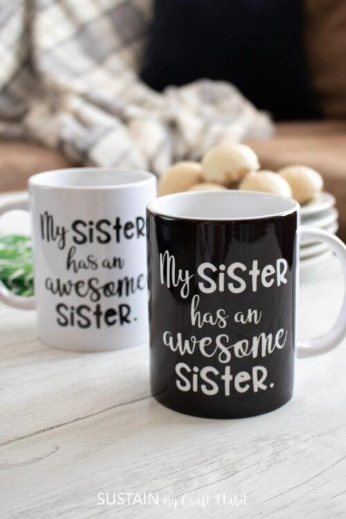 Awesome Sister Mugs