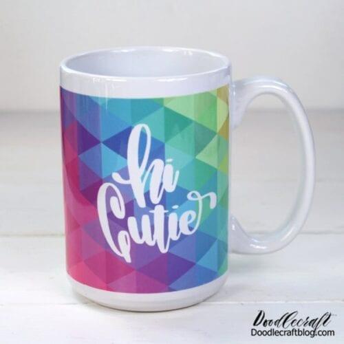 Hi Cutie Mug