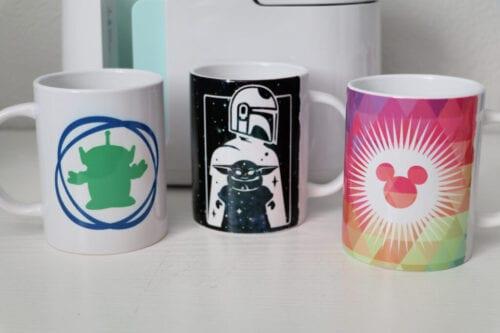 Cricut Disney Mugs