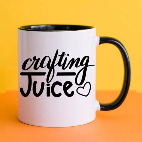 Crafting Juice Mug