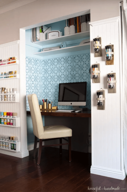 Office and Craft Room Reveal