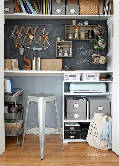 Designing a Closet Desk and Functional Homework Space