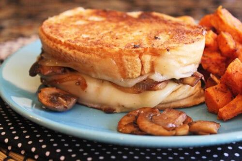 Mushroom Lovers Grilled Cheese
