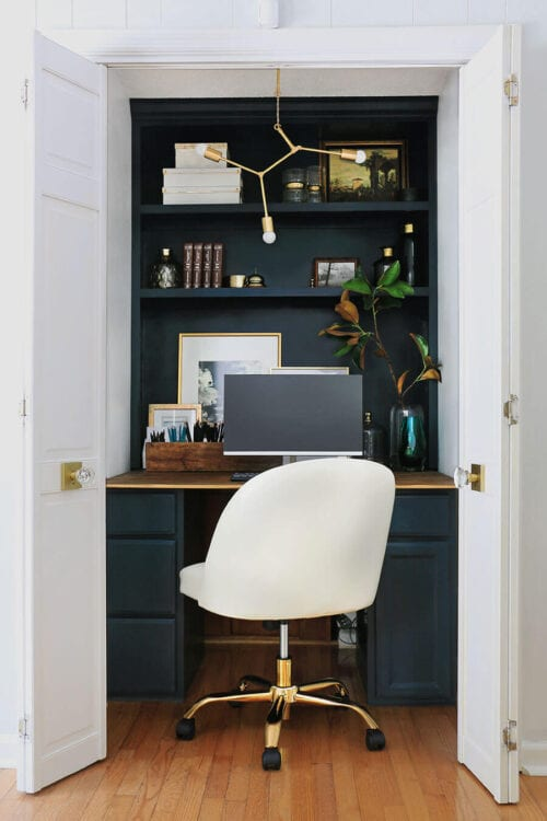 Formal Family Room and Office Nook