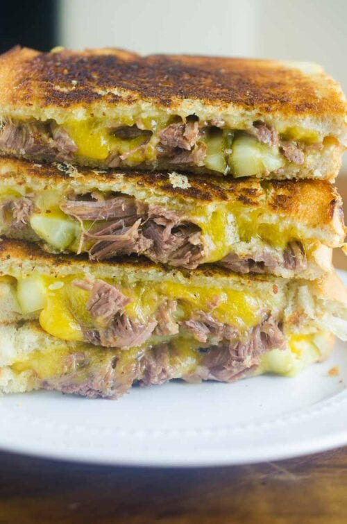Pot Roast Grilled Cheese Recipe
