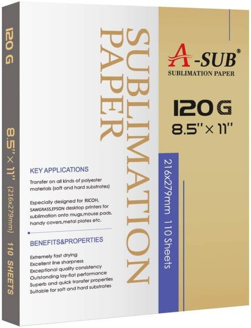 A-Sub 120 G Sublimation Paper