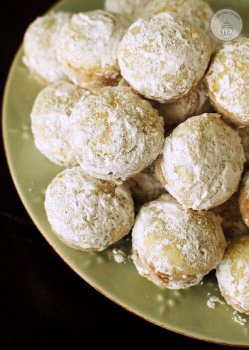 baked powdered sugar donut holes recipe