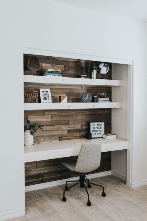 Contemporary DIY Closet of Office