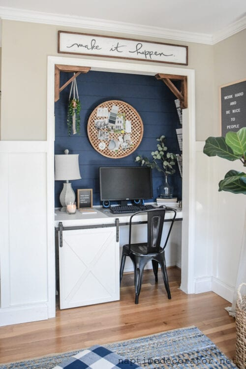 The Closet to Office Makeover