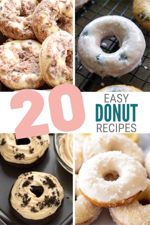 easy donut recipes 1