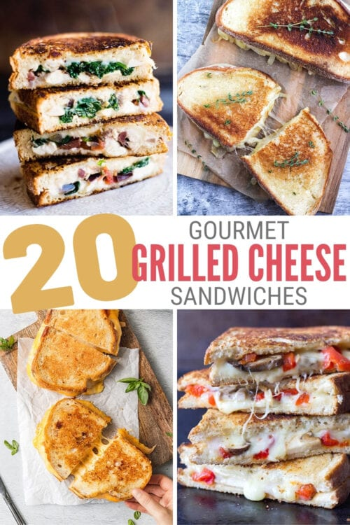 title image for 20 Gourmet Grilled Cheese Sandwich Recipes