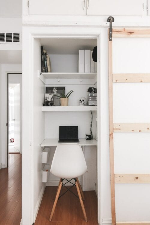 Your Closet Should Be a Mini Home Office