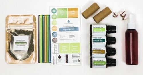 simply earth june recipe box 1