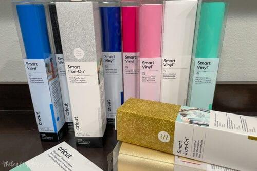 rolls of smart materials