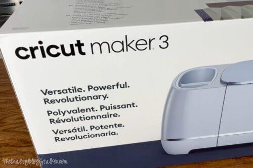 Cricut Maker 3 Box