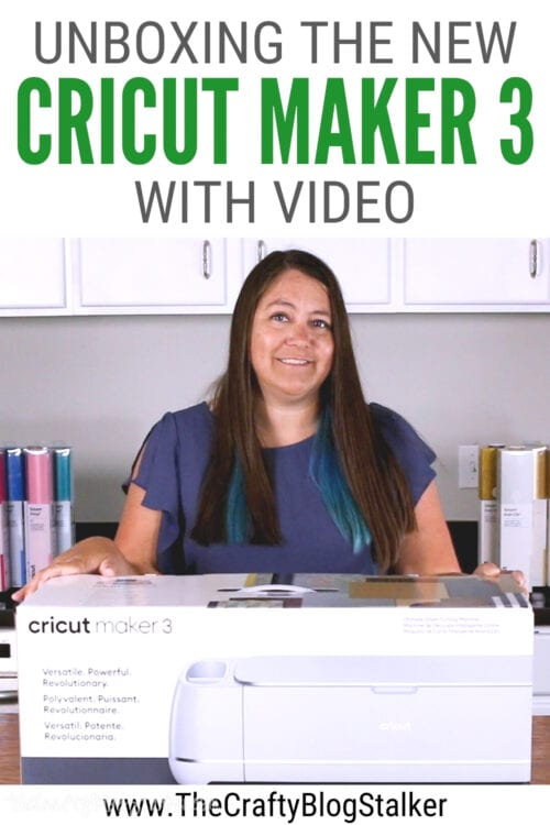 title image for Unboxing the New Cricut Maker 3