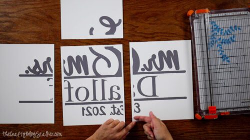 piecing design tiles together