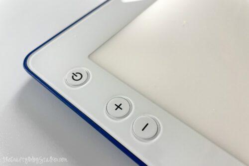 power buttons for cricut brightpad go
