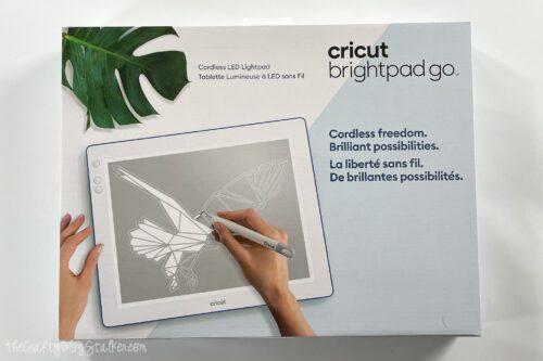 cricut brightpad go in box
