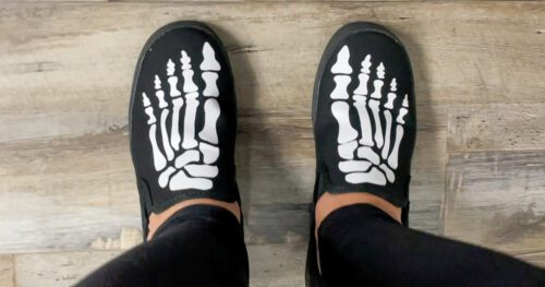 skeleton shoes tutorial 15